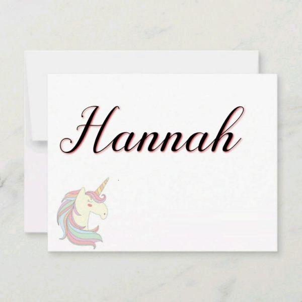 Hannah nome de ana com mais letras e atualizações