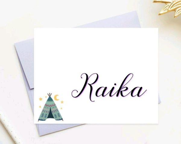 Raika um nome de lutadora que se tem origem de forte