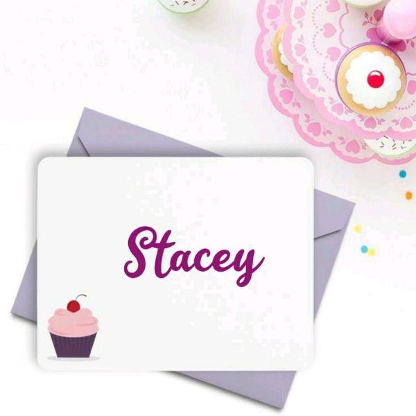 Stacey um nome para uma pequena barbie