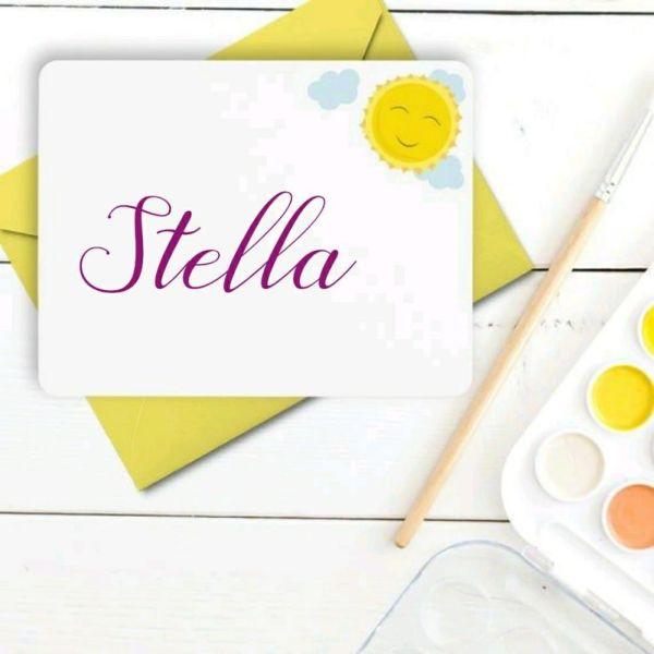 Stella nome para uma linda moça