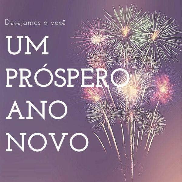 desejo a você um prospero ano novo de 2022