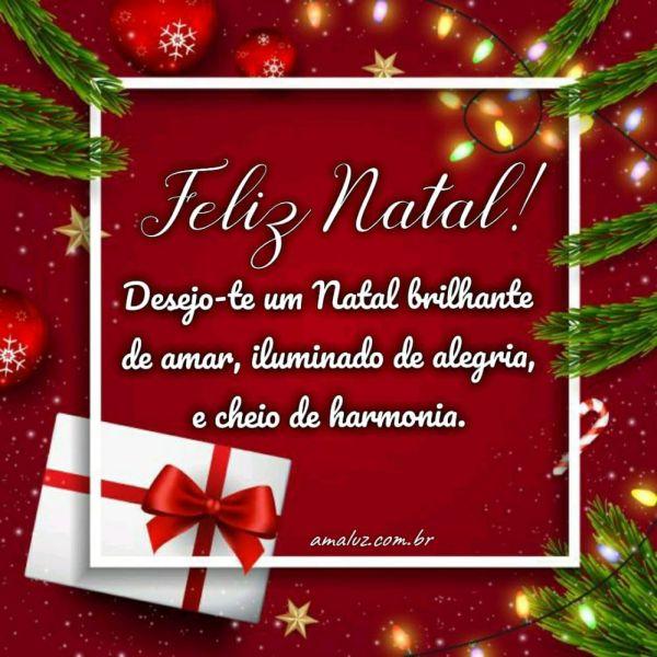 desejo-te um natal brilhante de amor feliz natal