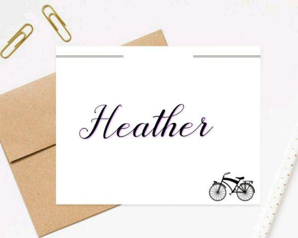 heather um nome praticamente dificil de se fala porem muito lindo