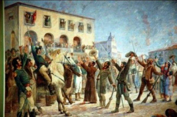 imagem do povo em comemoração