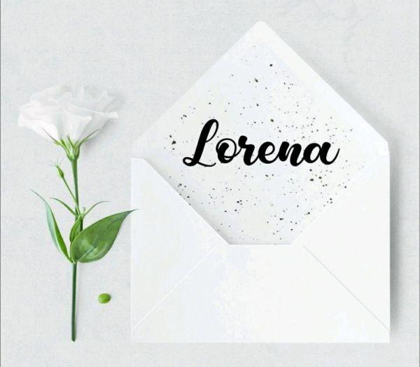 lorena um nome bonito para bebê
