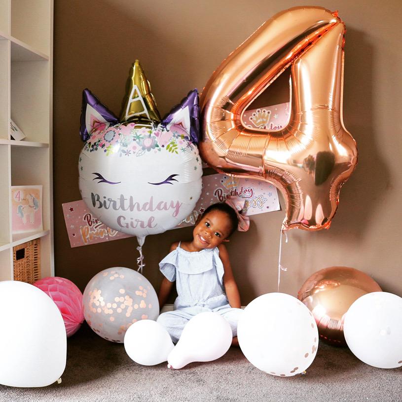 4 year old girl's birthday