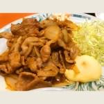 生姜焼き定食(拡大)