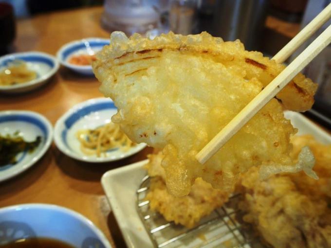 天ぷら一代鶏天定食