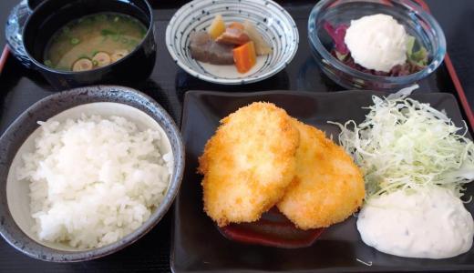 浅口市鴨方町「カフェ ド プティ・リス」ランチが驚きのワンコインから!洋食もお味は本物ですよ