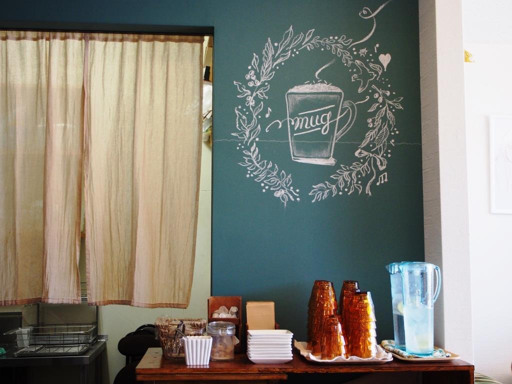 倉敷市玉島「cafe mug マグ」本格コーヒーが美味しい人気のお洒落カフェ!ランチメニュー一新しました