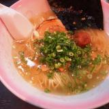 笠岡市「はや川ラーメン 一笑懸麺」お茶漬け?みたいなええ塩梅の汐の音ラーメンが美味!家族連れにおすすめですよ