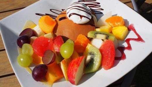 倉敷美観地区「パーラー果物小町」竹林のお庭でフルーツ三昧!白桃のソフトクリームも美味しい癒しスポット