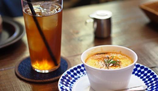 倉敷美観地区「アンティカ」日替わりランチにアメリのクレームブリュレが絶品!夜も素敵な隠れ家カフェ