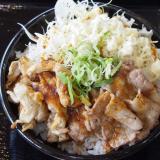 肉壱番 2種盛丼2