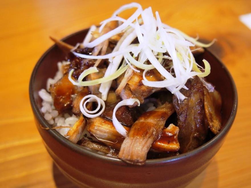 麺屋つむぎ チャーシュー丼2