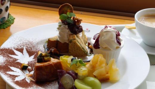 矢掛町「カフェ フルーツトピア」大満足のフルーツプレートに濃厚ソフト!アスレチックも楽しいよ