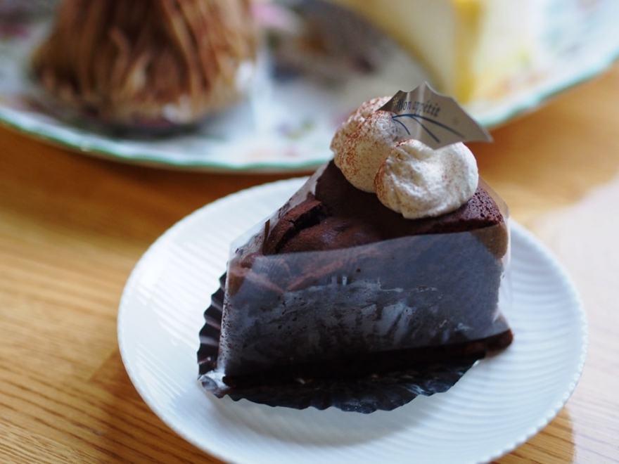 洋菓子のグルメ ガトーショコラ