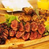 岡山市表町「アンソレイユ」おしゃれ空間で絶品生パスタ!ディナーのお肉は最高の贅沢