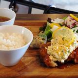 倉敷市「cafe REGOD(リゴッド)」ランチが美味しいおしゃれカフェ!チキン南蛮プレートがおすすめ