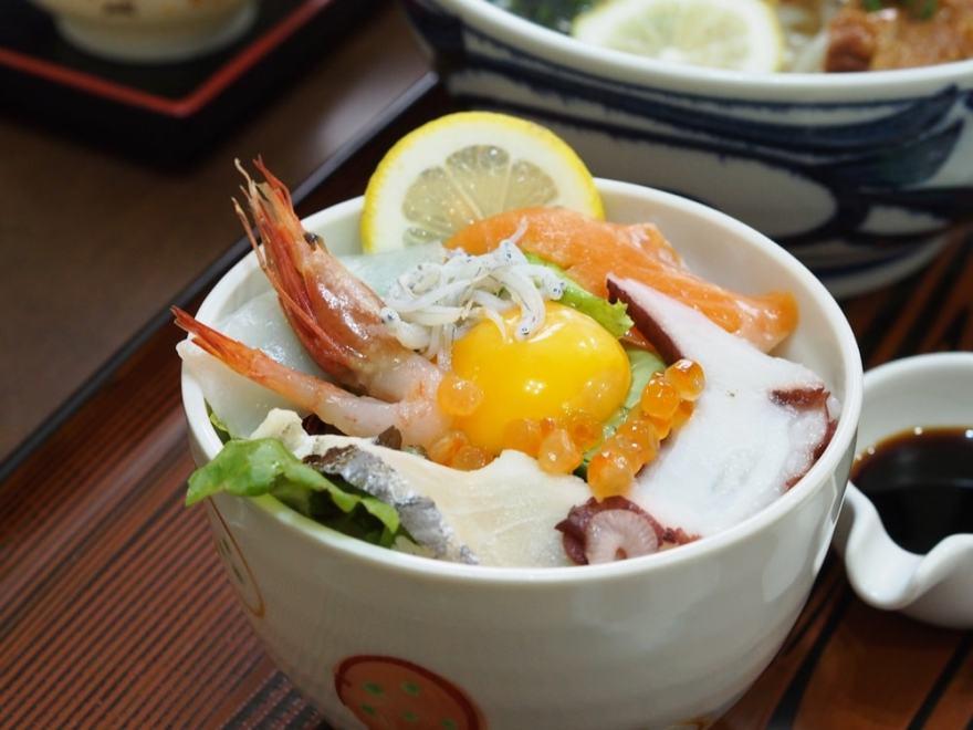 しまなみロマン 海鮮丼