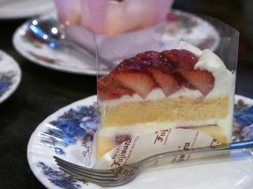 洋菓子工房ふじわら ショートケーキ