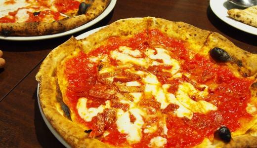 イオンモール岡山「アペティート Appetito」本格ナポリピッツァに大満足!ジェラート付きサラダバーもお得です