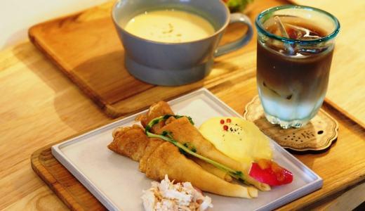 倉敷美観地区「虹色商店」バターの香りに誘われて…!蜜芋ポタージュも絶品の贅沢デリクレープ