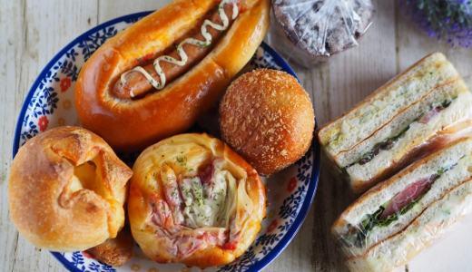 福山市「格太郎と麦」オリジナルのサンドイッチが美味しい!御門町の人気パン屋さん