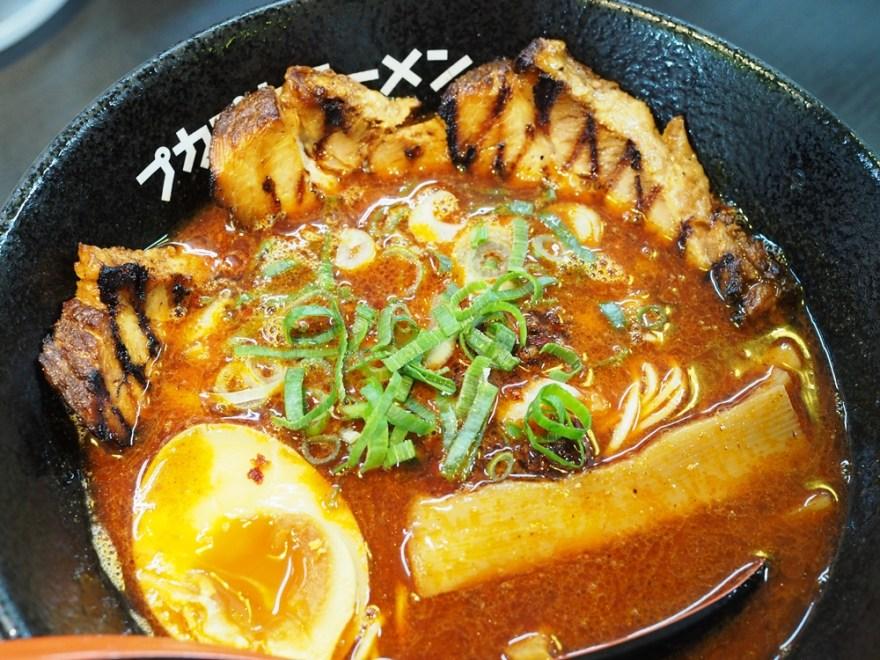 拉麺プカプカ カミナリラーメン