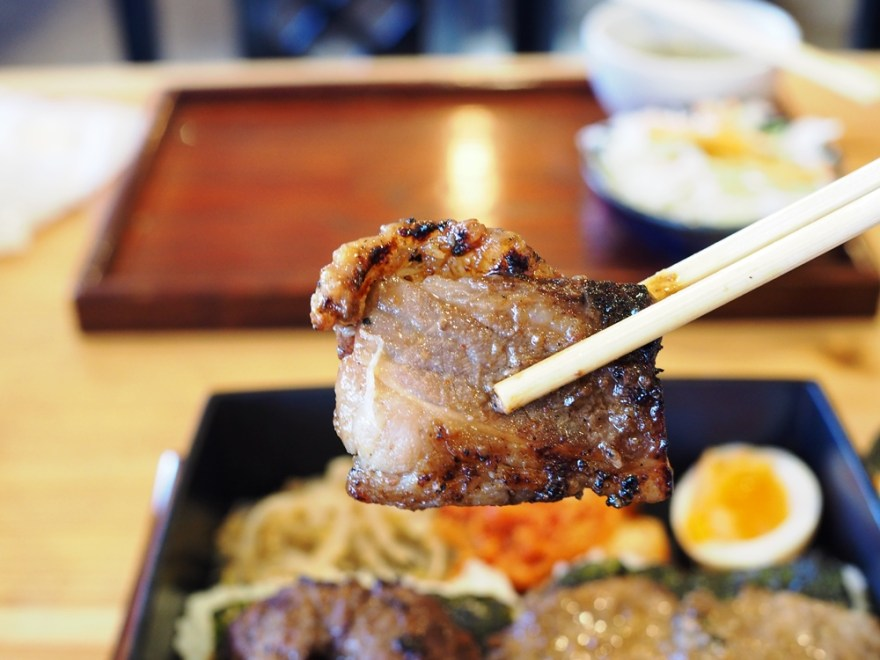 焼肉食堂ブリスケ 牛カルビ・ブリスケ定食
