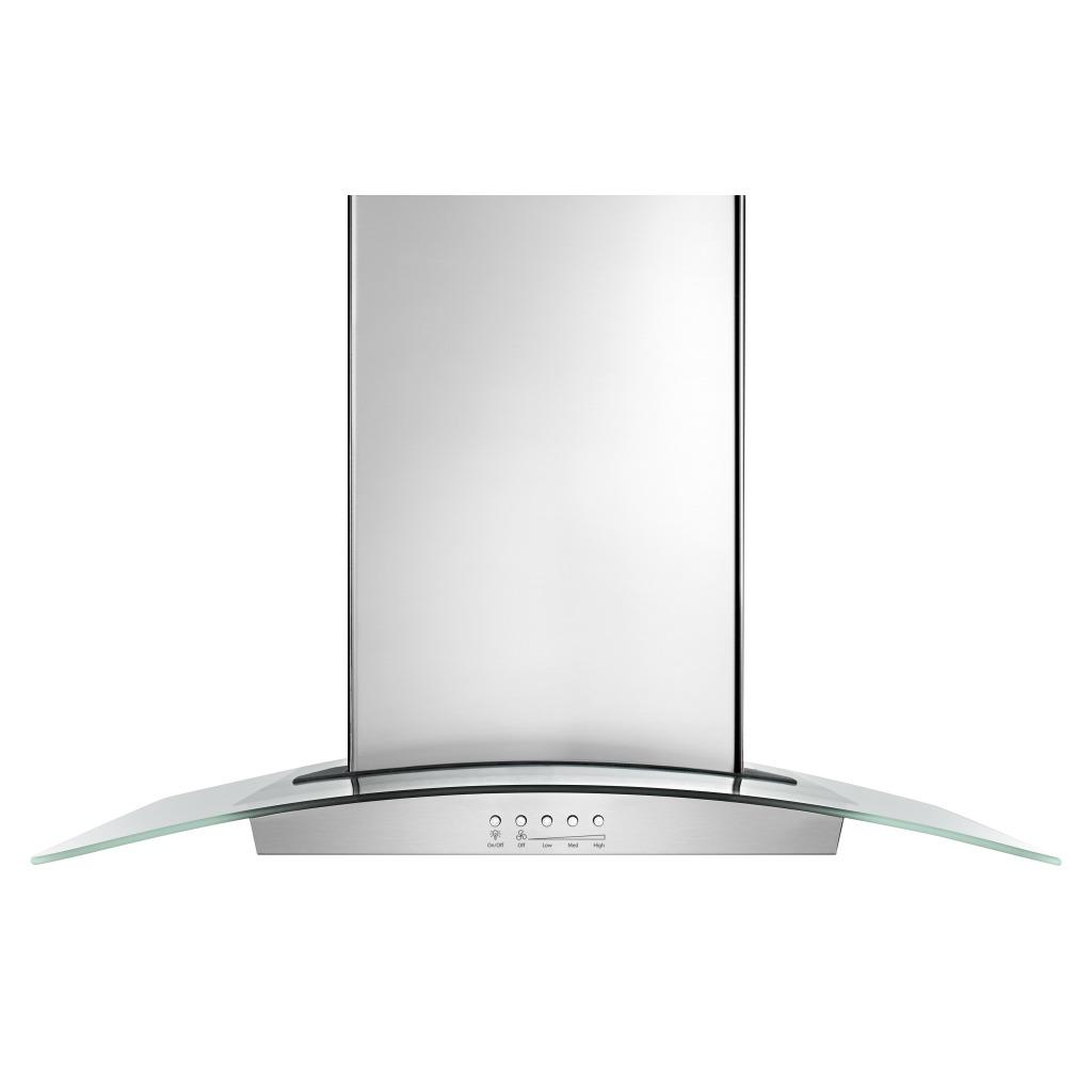 kitchen hood tile backsplash ideas wvi75uc6ds 36 inch glass island with edge led wvi75uc6dswhirlpool lighting