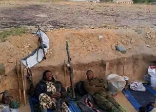 See Nigerian Soldier Response To His Girlfriend After She Asked Him For Money