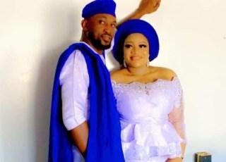 Onyinye Onome and her husband