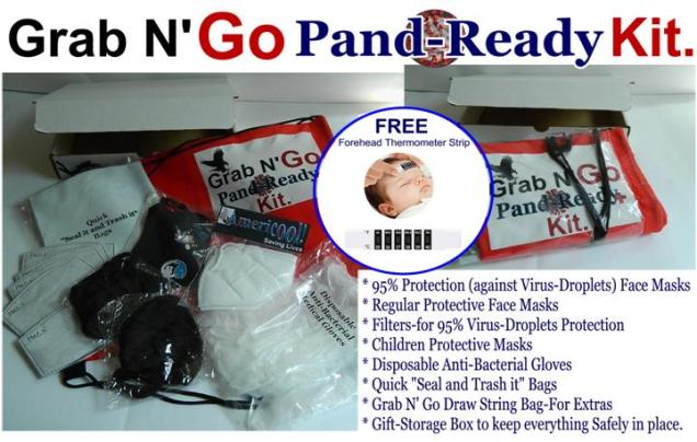 Pandemic Ready Kit=Your Ready to Go Kit