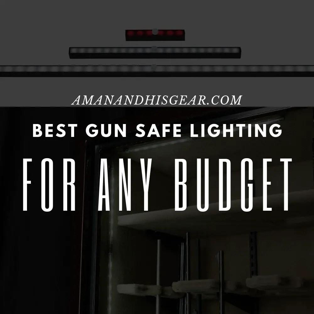 best gun safe lighting for any budget