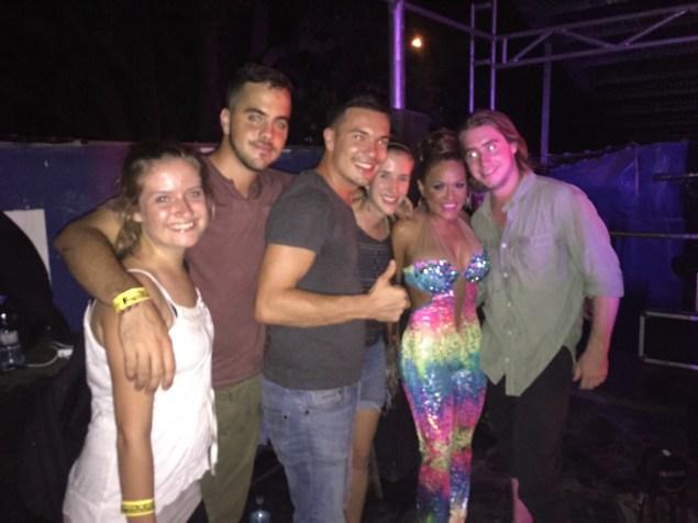 Sandra Sandoval and white people!