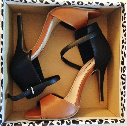 So looking forward to breaking in these strappy pumps!