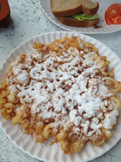 Annual funnel cake :)