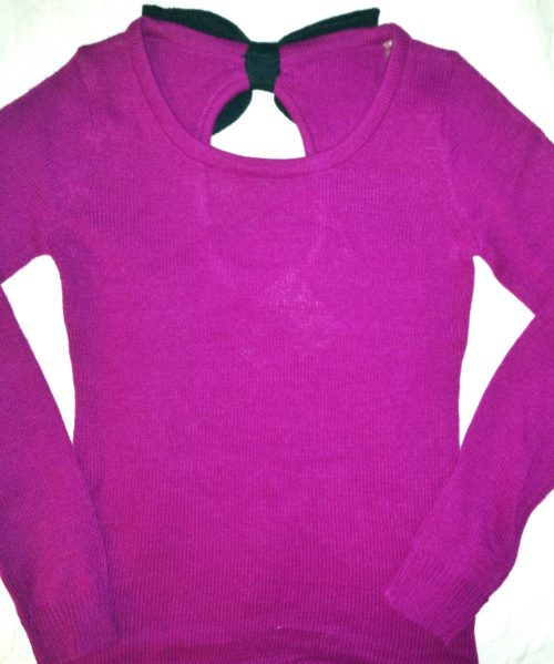 Super cozy Fuchsia sweater