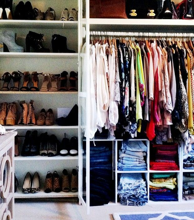 This is *not* my wardrobe, but its a realistic goal for me :)