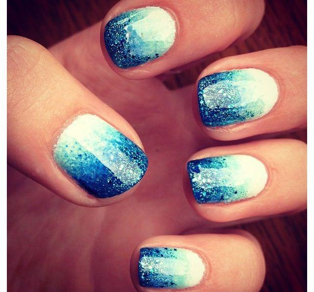 Similar concept as above with a little more glitter, from Tends-Style.