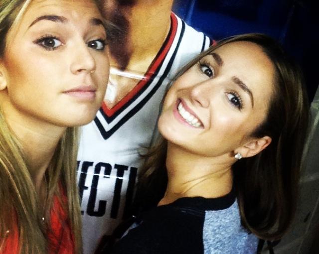 A sister selfie