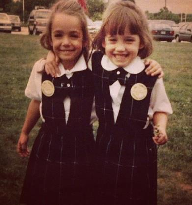 One of my favorite pictures of her & I in kindergarten :)