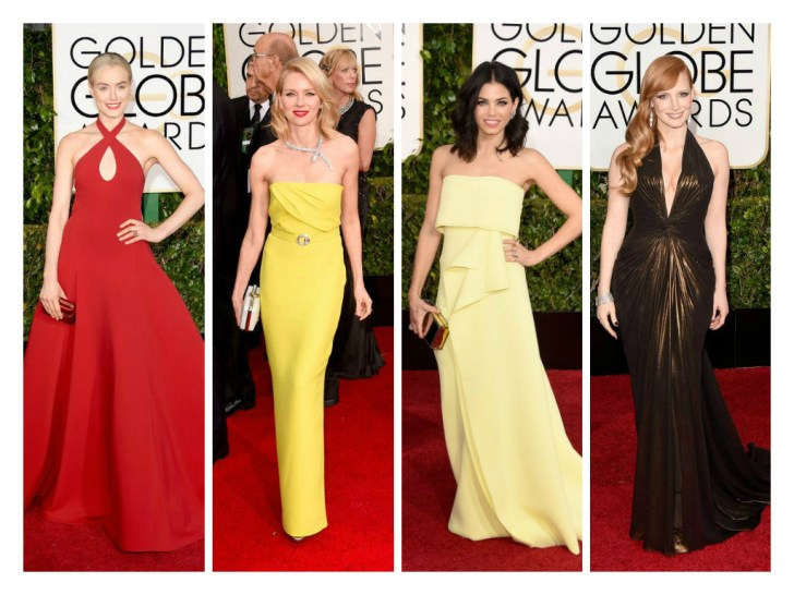Taylor Schilling in XXX, Naomi Watts in XXX, Jenna Dewan-Tatum in Carolina Herrara