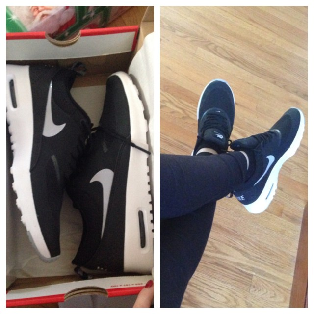 PSA: I am NOT a sneaker girl at all, but I really wanted this pair of black Nikes. I was so happy to get them and have already worn them so much already :)