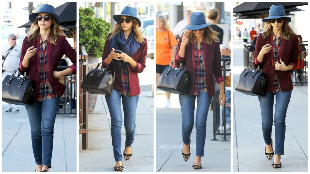 Jessica Alba Fall Style