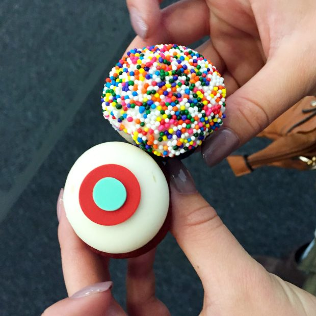 Honestly, the yummiest Sprinkles cupcakes!