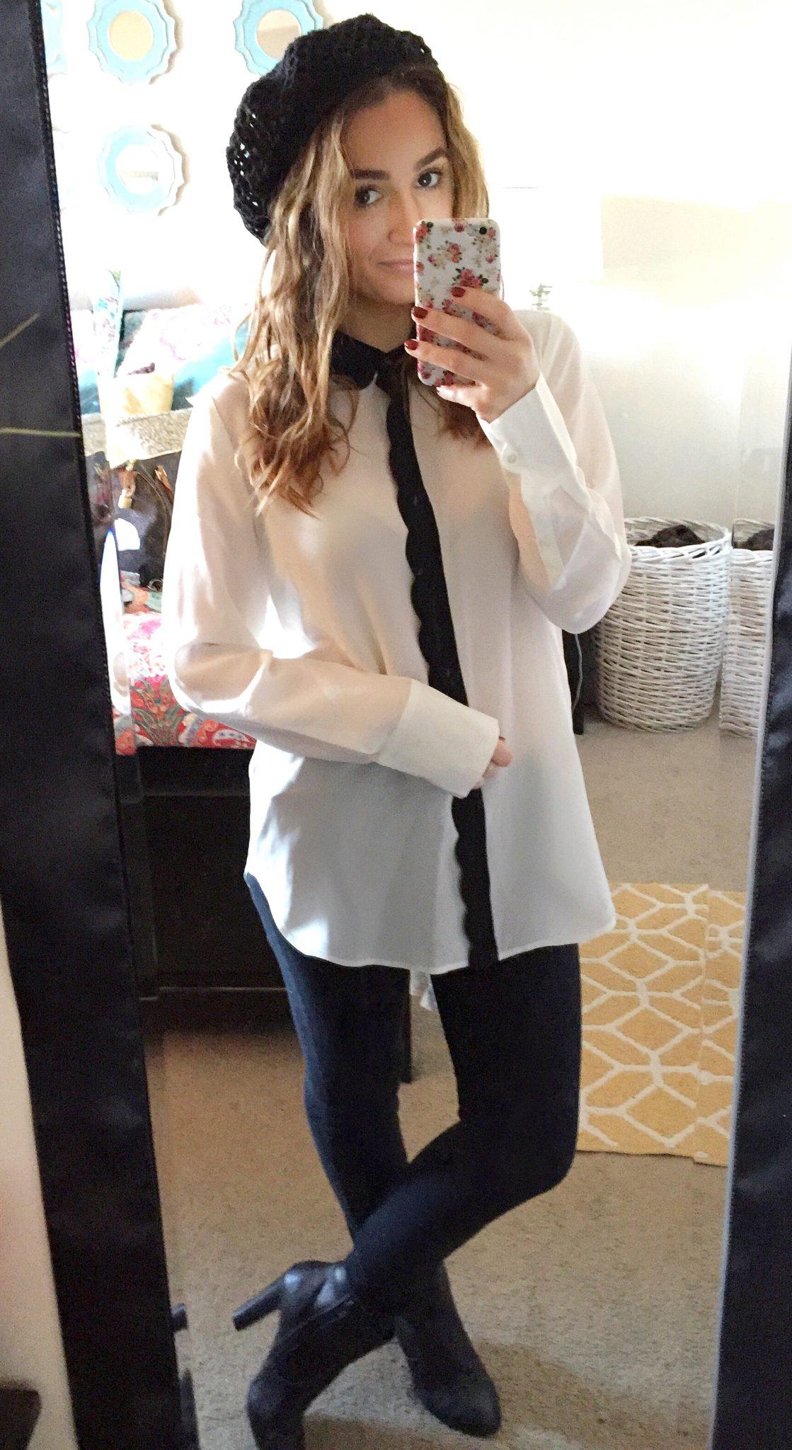 I let my boyfriend dress me - monday