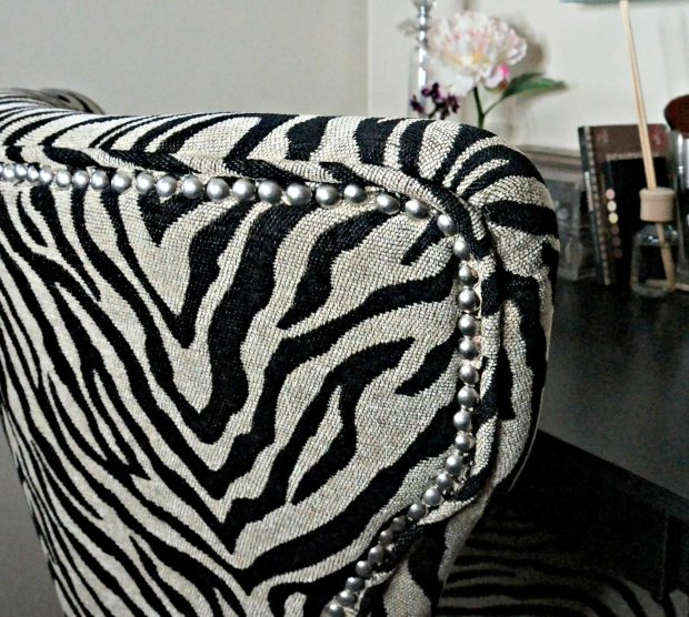 Studded Zebra chair