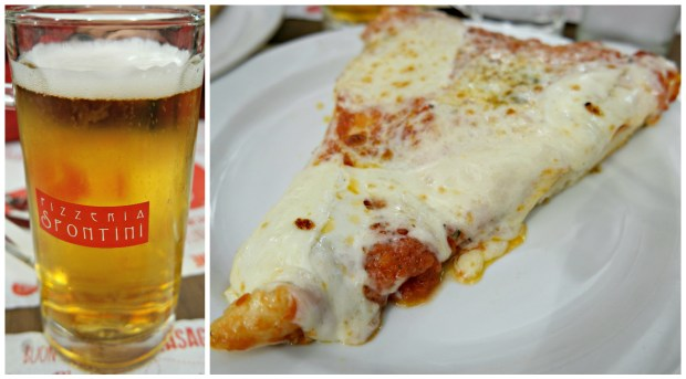 Spontini Pizza beer